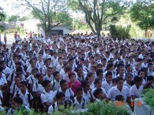 los adolescentes del municipio de Fomento, #Cuba se vinculan a proyectos asociados a la UNESCO desde 1992.