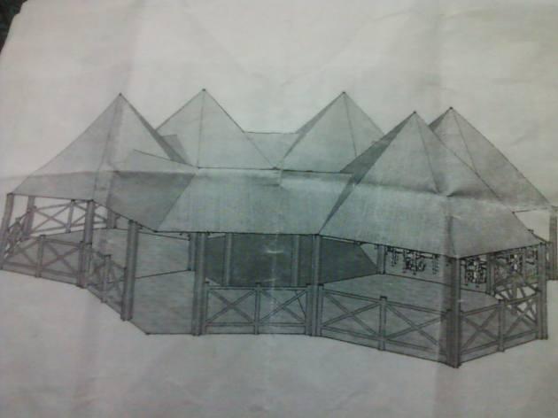 Imagen del proyecto del Ranchón La Orquídea.
