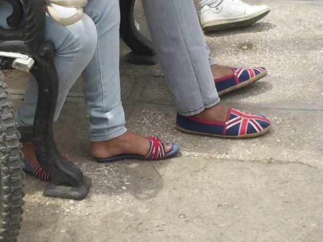 La bandera inglesita, una moda impostora.
