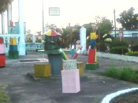 Círculo Infantil Flores de Primavera de Fomento, Cuba.