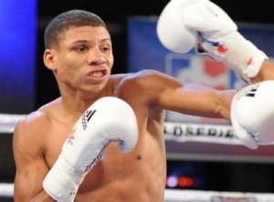 Yosbany Veitia contra USA Knockouts, en EEUU (Foto: World Series of Boxing)