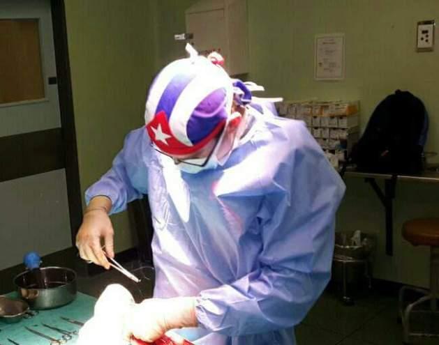 Liván Meneses, ortopédico de Médicos sin Fronteras e hijo ilustre de Fomento Cuba.